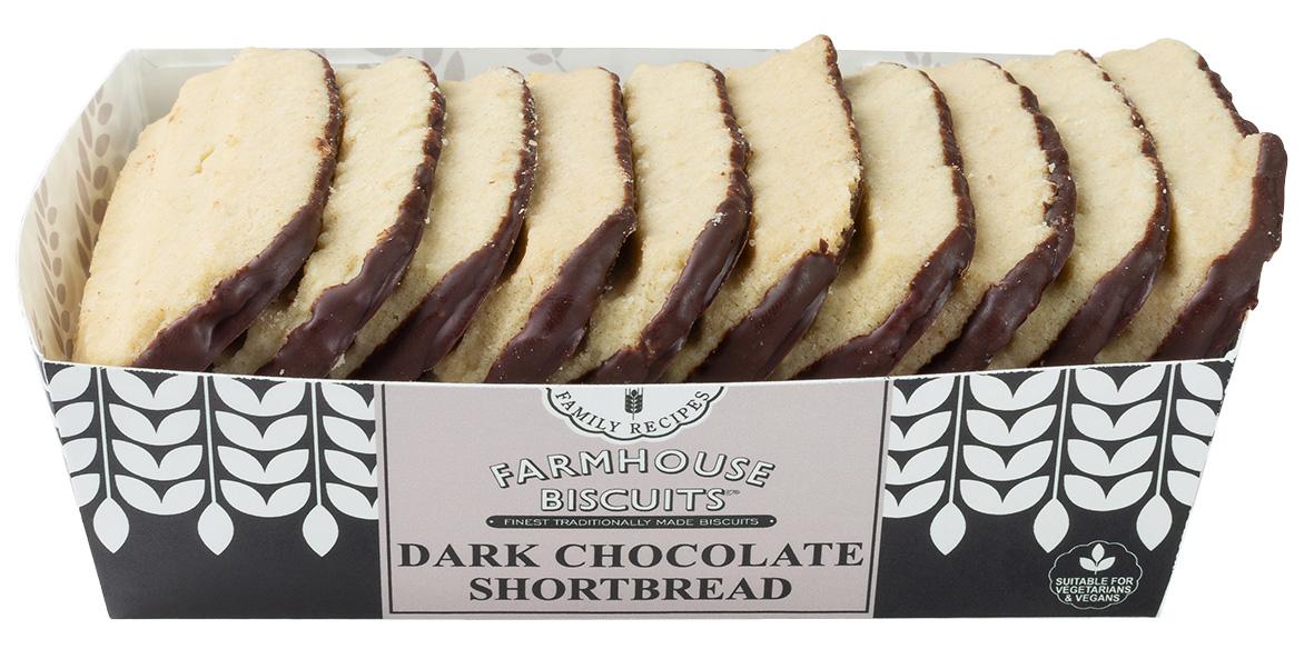 Biscoitos de chocolate shortbread 150g