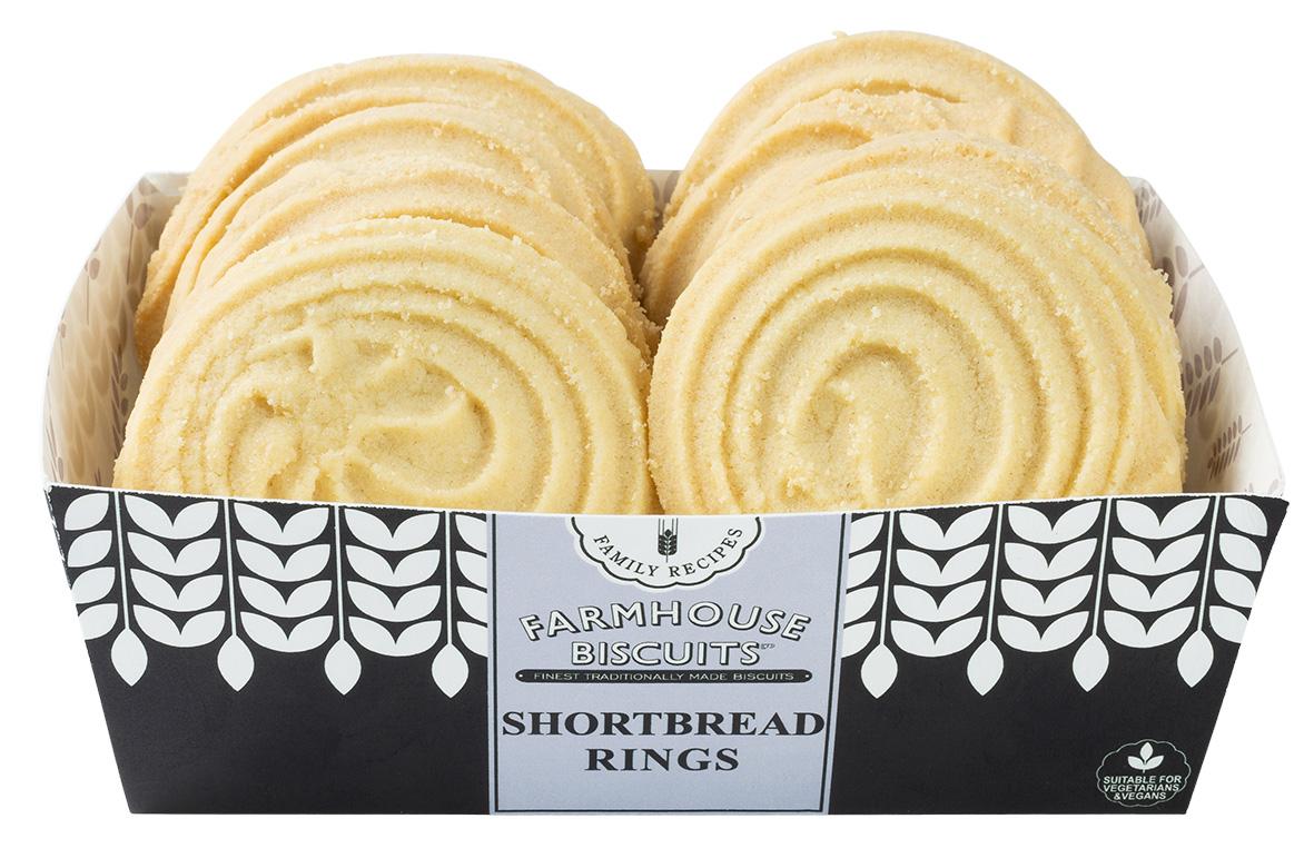 Biscoitos de Shortbread Rings 200g