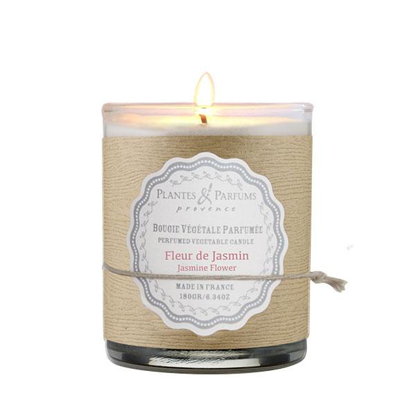 Vela perfumada de flores de jasmim 180g