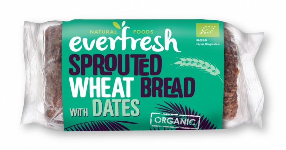 Pão de trigo germinado com tâmaras 400g