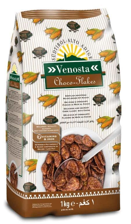 Corn flakes com chocolate 1kg