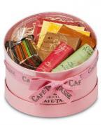 Caixa redonda rosa 336g