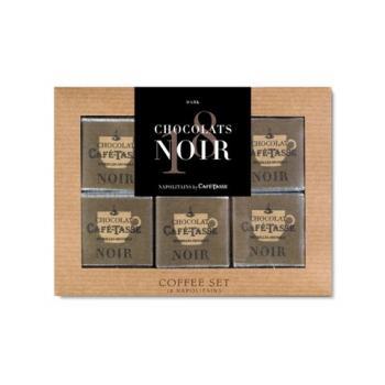 Napolitanos de Chocolate Negro Caixa 90g