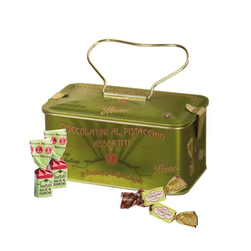 Lata vintage de chocolates de pistachio 150g