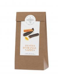 Farripas de Laranja cobertas com chocolate negro 125g