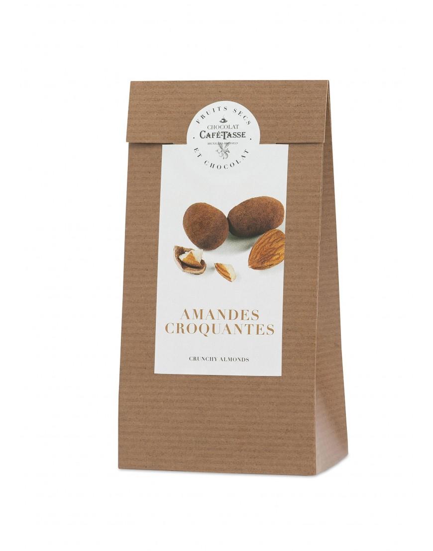 Amêndoas cobertas com chocolate leite 125g