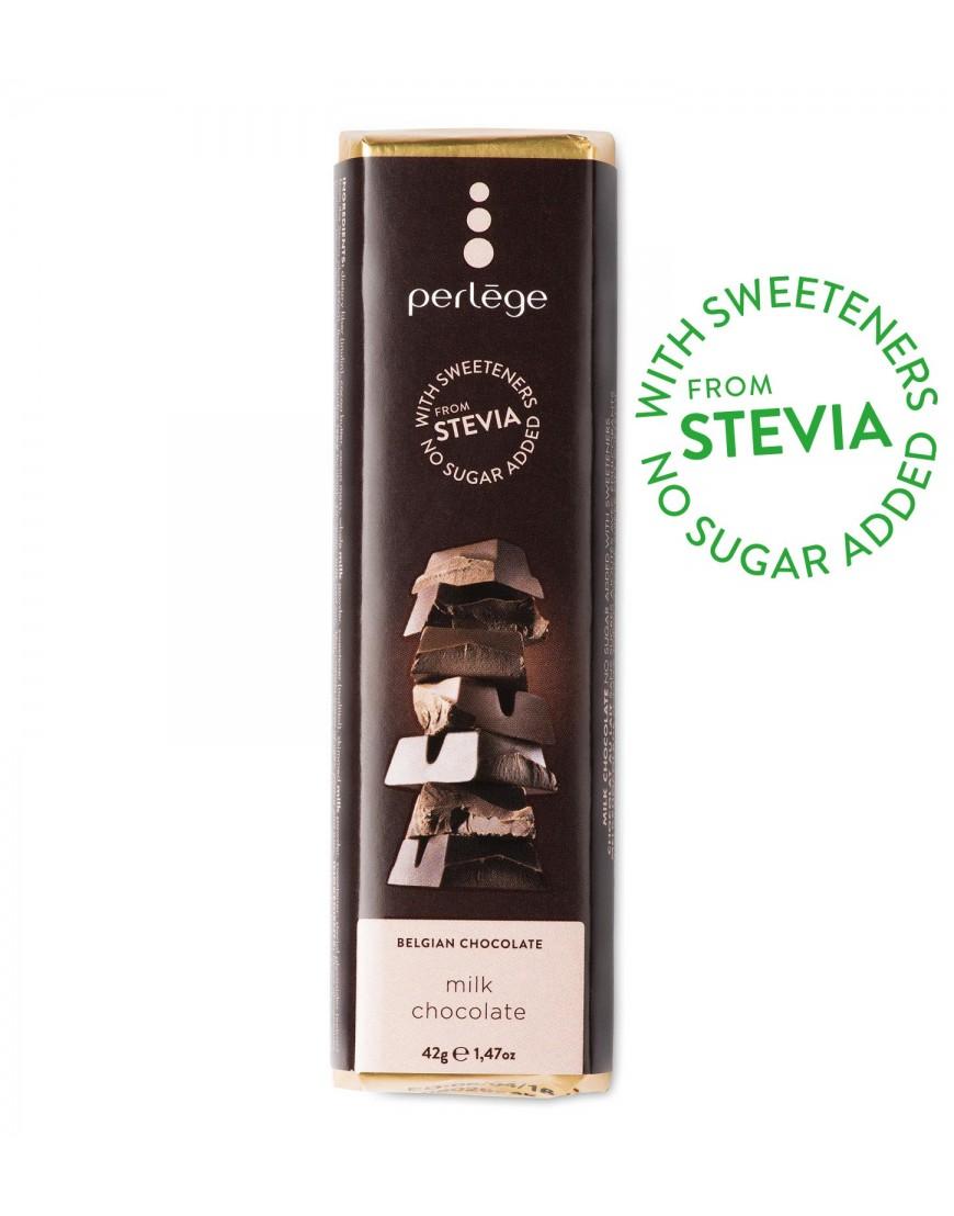 Tablete chocolate leite sem açúcar (stévia) 42g