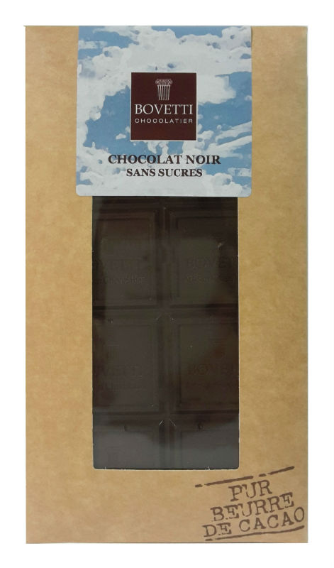 Tablete de chocolate negro sem açucar com Maltitol 100g
