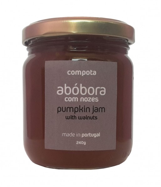 Pumpkin jam with walnuts 240g
