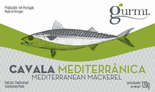 Cavala mediterrânica azeite 120g