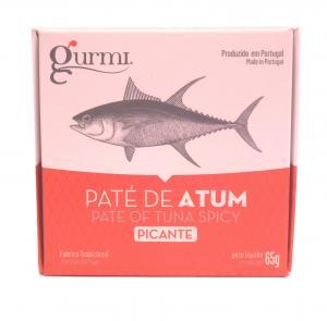 Paté de atum picante 65g