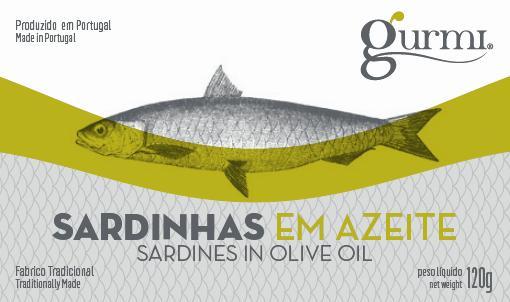 Sardinhas em azeite 120g