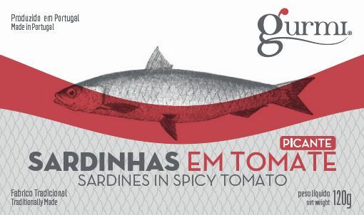 sardinhas em tomate picante 120g