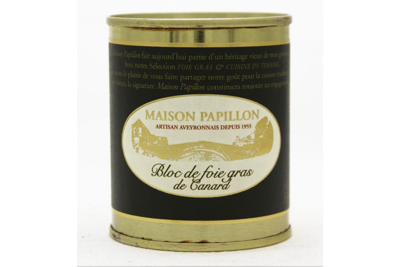 Bloc de foie gras 125g