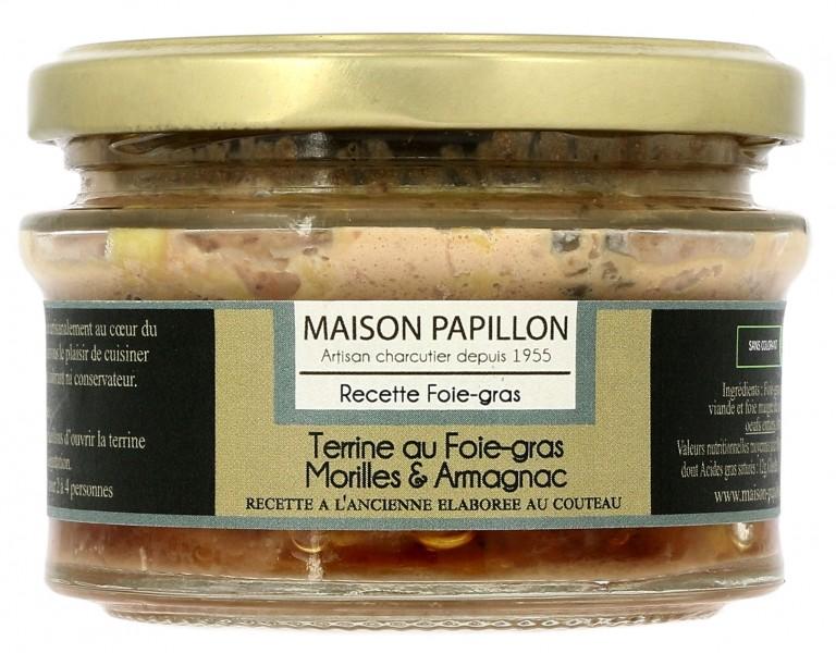 Terrina com foie gras com cogumelos e armagnac 100g