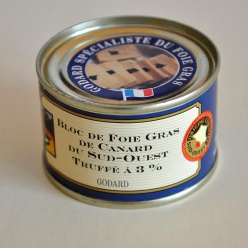 Bloc Foie Gras Pato Sud. Trufee 3% 70g