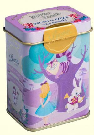 Pastilhas lata Conto - Alice no país das Maravilhas 42g