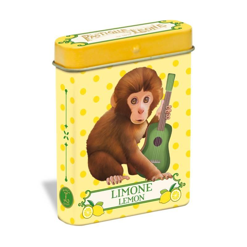 Pastilhas limão 15g - Lata macaco