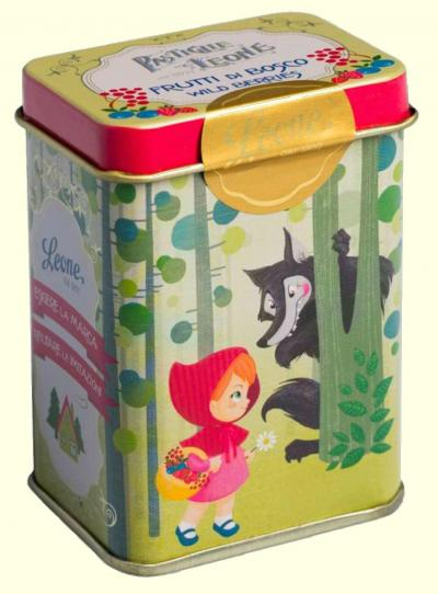 Pastilhas lata Conto - Capuchinho Vermelho 42g