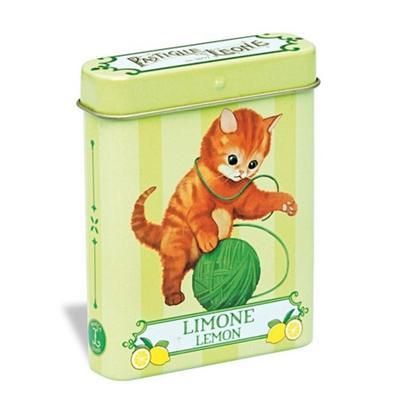 Lata gatinho limão 15g