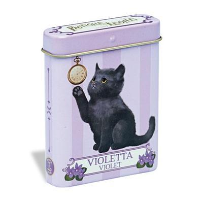 Lata gatinho violeta 15g