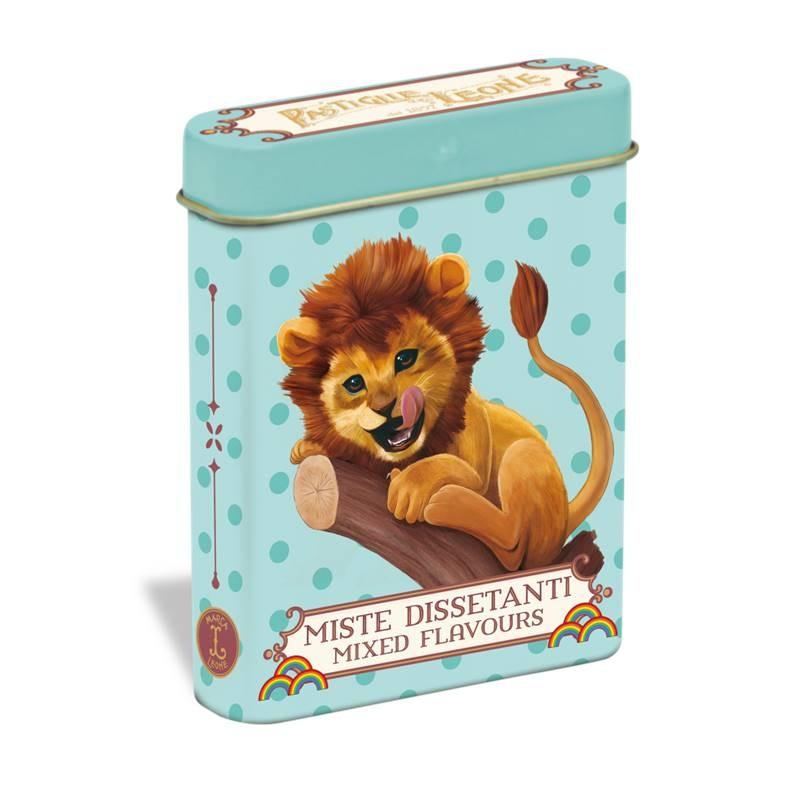 Pastilhas mistas 15g - Lata leão