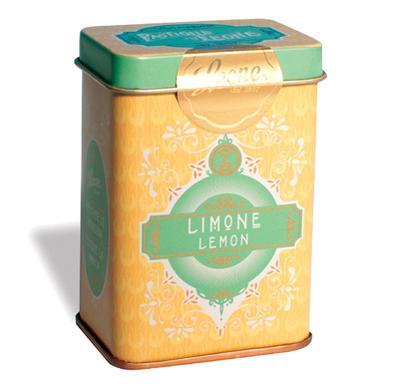 Pastilhas Lata Retro - Limão