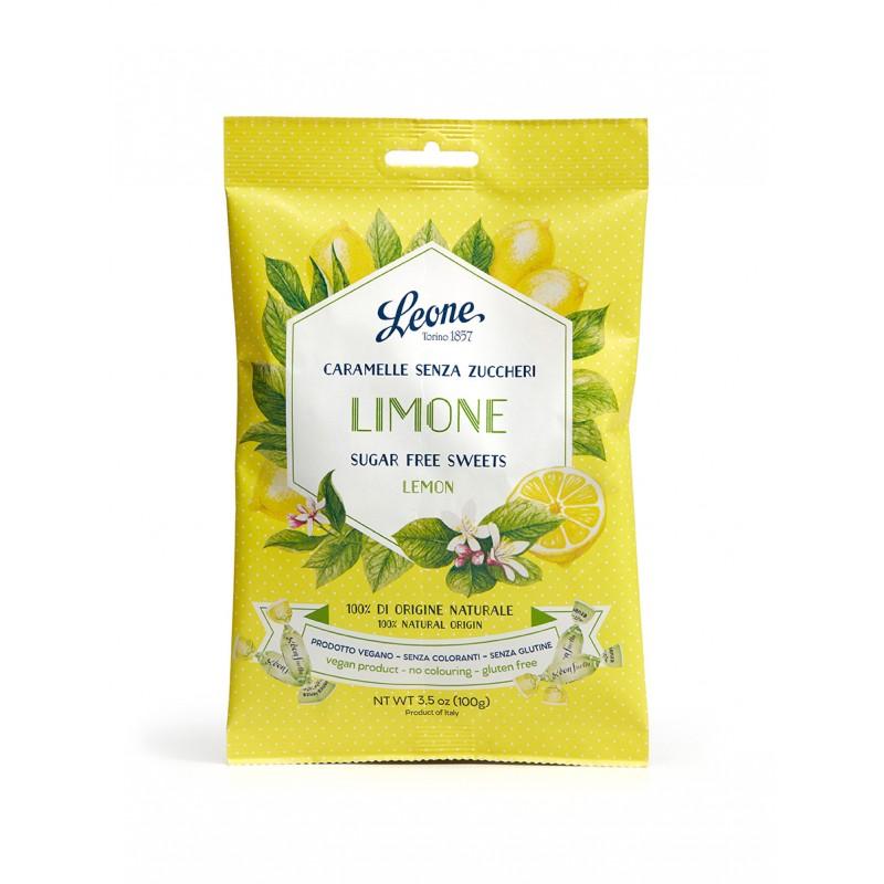 Rebuçados sem açúcar - limão 100g