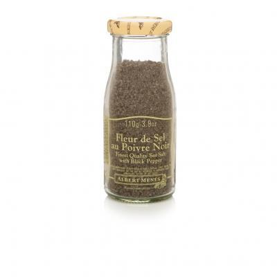 Flor de sal com pimenta preta 110g