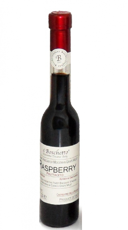 Condimento de vinagre balsâmico com framboesa 200ml