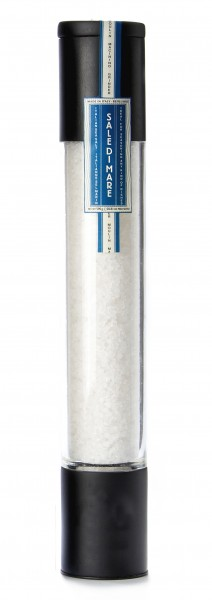 Moinho grande preto - sal branco 590g