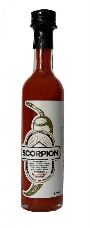 Molho piri-piri Scorpion 50ml