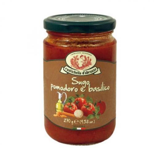 Molho com Tomate e Basilico