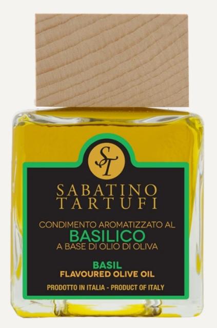 Azeite aromatizado com basilico 100ml