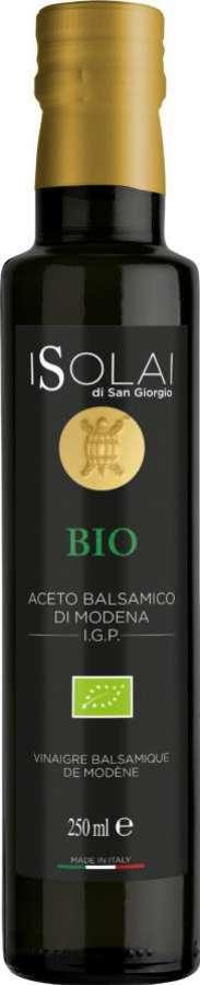 Vinagre balsâmico de Modena IGP Biológico 250ml