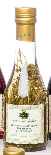 Vinagre de Vinho Branco com Ervas Provence 250ml