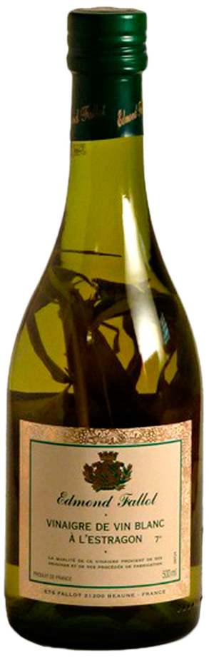 Vinagre de vinho branco com estragão 500ml