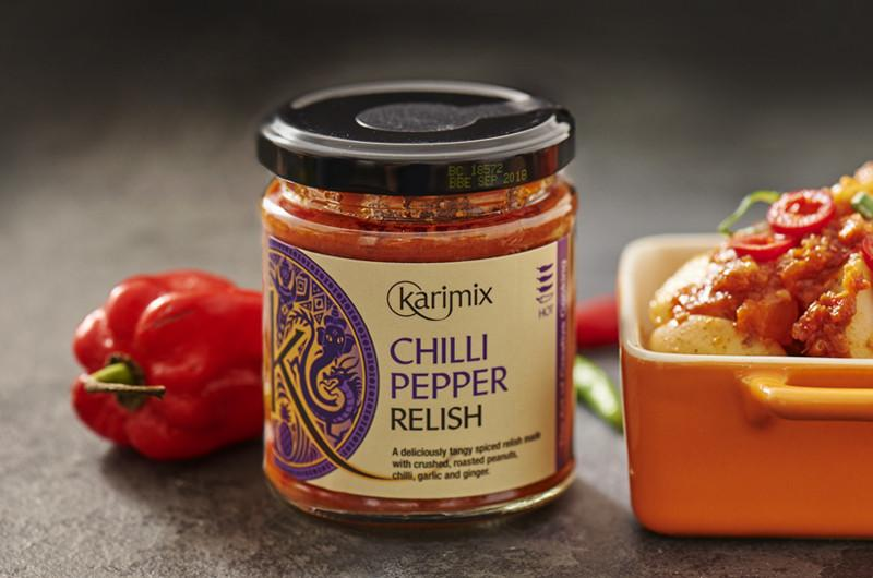 Molho com Malagueta - Chilli Pepper Relish 185g