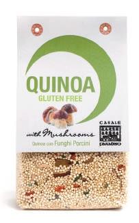 Quinoa com cogumelos 200g Sem Glúten