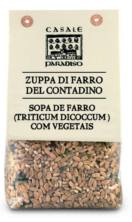 Farro com Legumes 300g