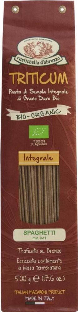 Spaghetti integral biológico 500g