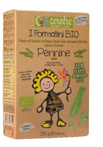 Pennine with Pesto Genovese