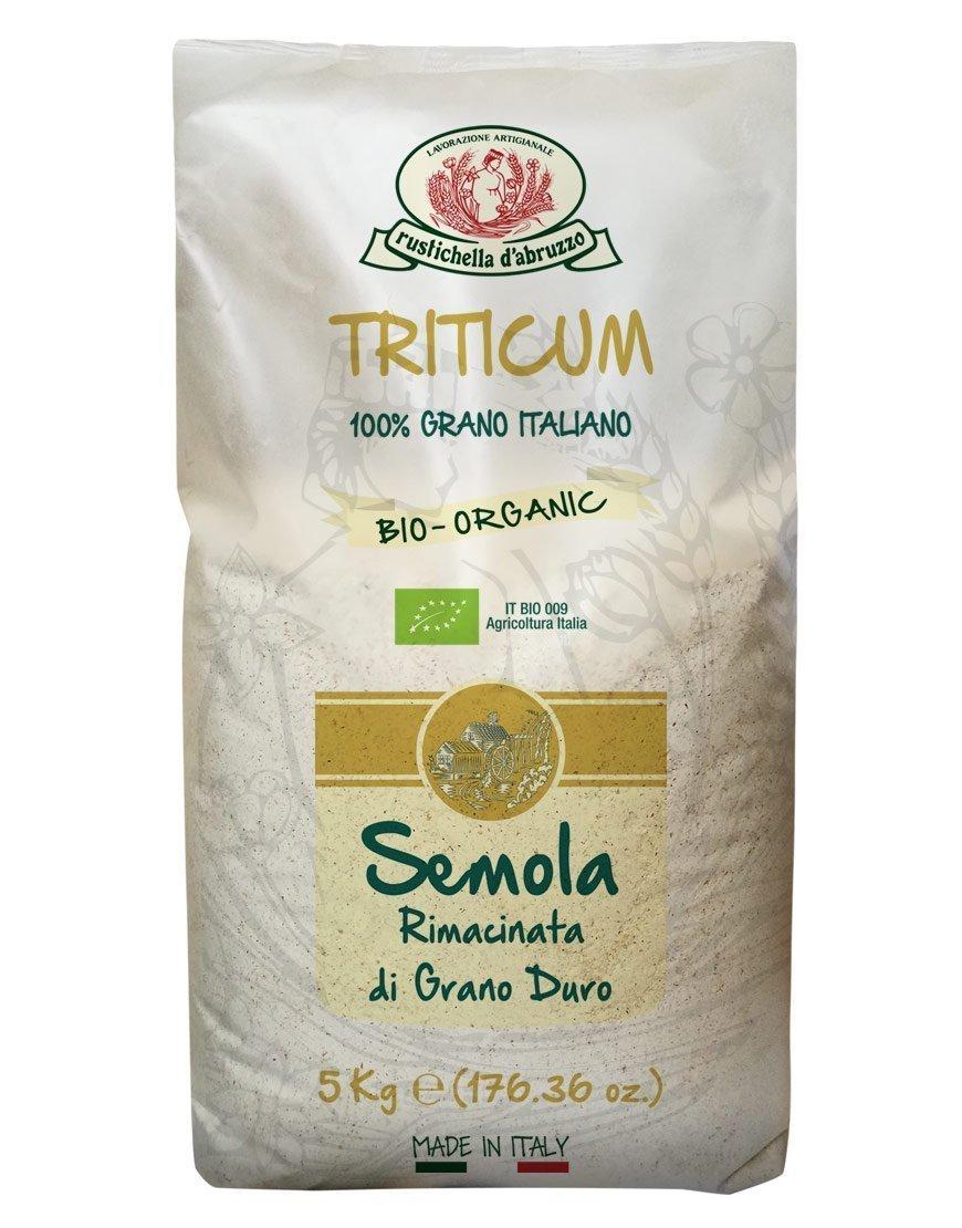 Semola Rimacinata (farinha) 5kg Biológica