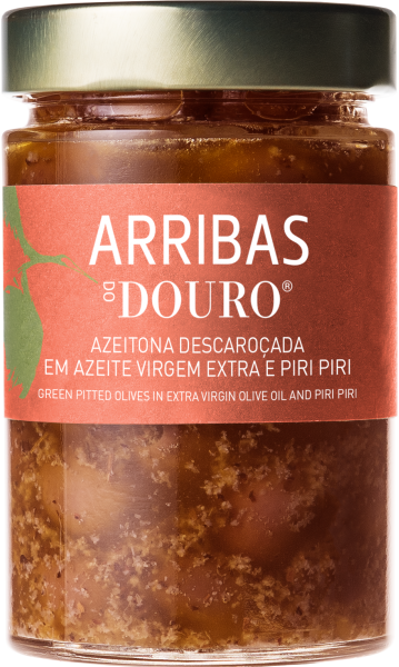 Azeitonas em azeite e.v. com piri-piri 300g