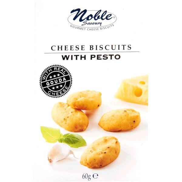 Biscoitos de queijo com pesto 60g