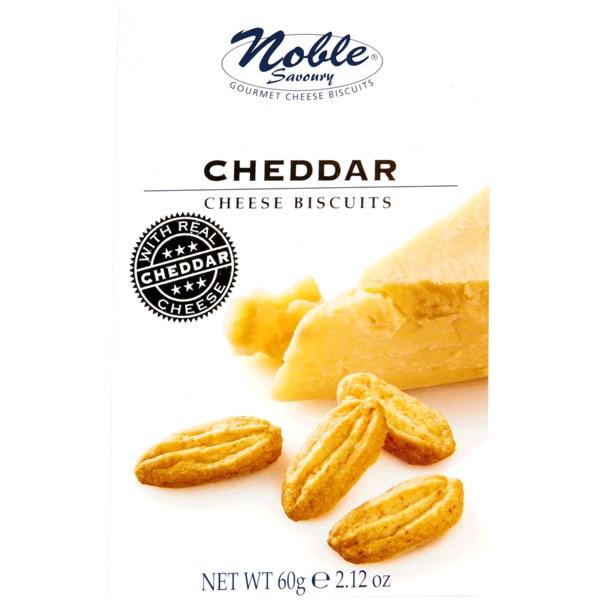 Biscoitos com queijo cheddar 60g