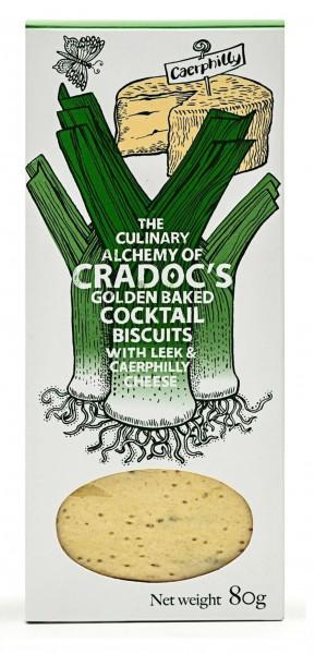Cracker de Alho-francês e Queijo
