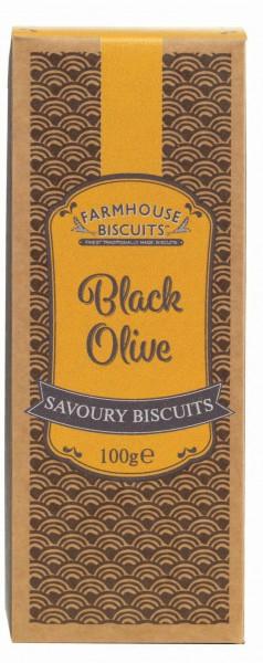 Savoury cracker de azeitona preta 100g