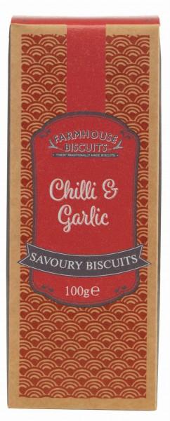 Savoury cracker de chilli e alho 100g