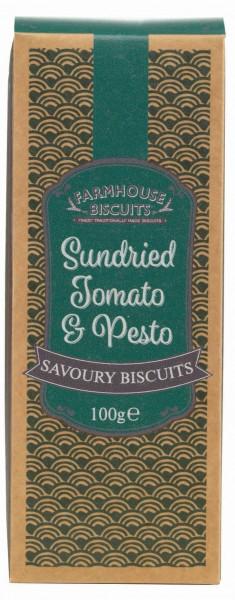 Savoury cracker de tomate seco e pesto 100g